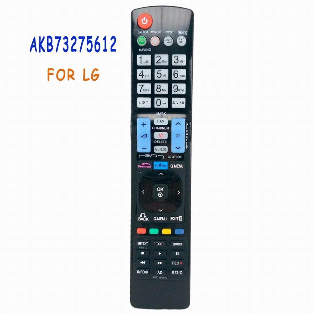 Nuevo mando a distancia Universal AKB73275612 compatible con LG TV Smart 3D LED LCD HDTV TV AKB73275619 42LW573S 47LW575S