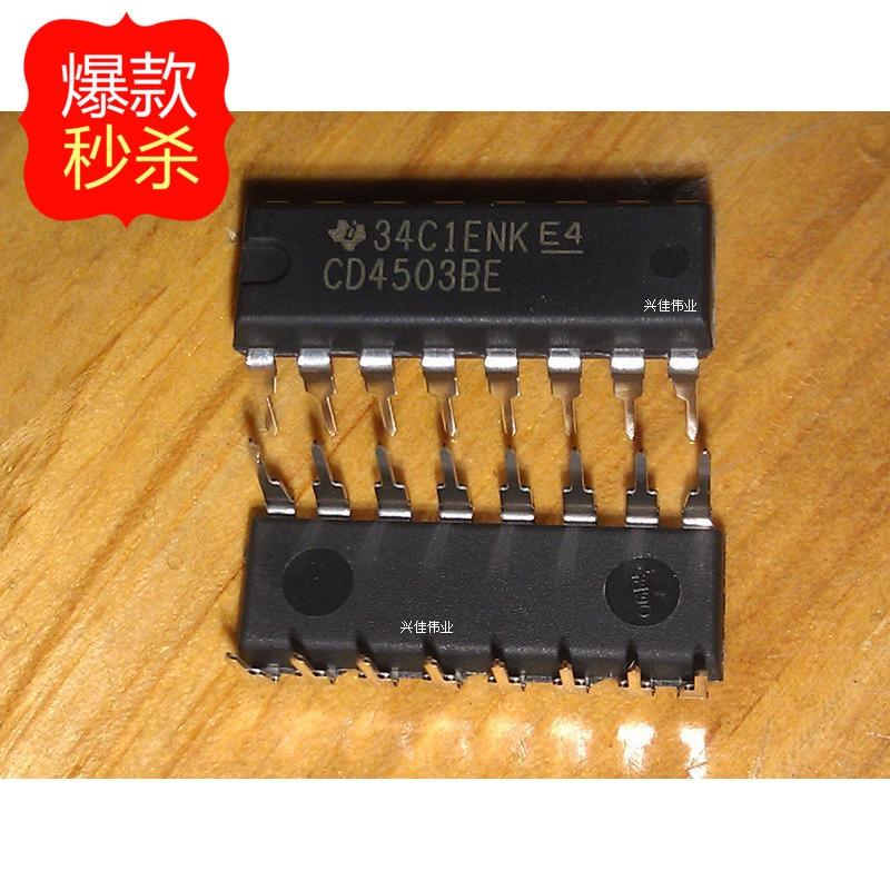 10 PCS TI CD4503BE CD4503 DIP16 Logic IC Pacote