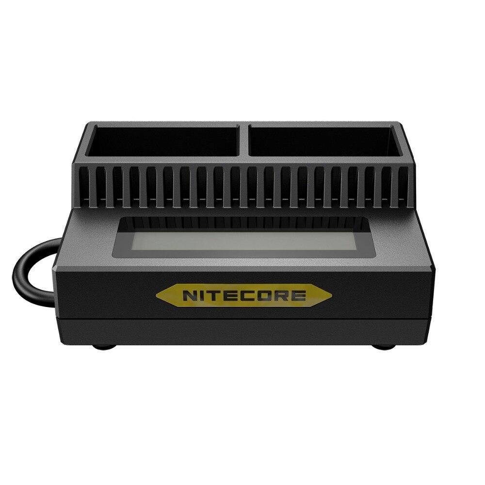 NITECORE UGP3 Display LCD USB Inteligente Carregador de Bateria GoPro HERO3/3 + AHDBT-302 301 201 Bateria Portátil Acessórios de Iluminação