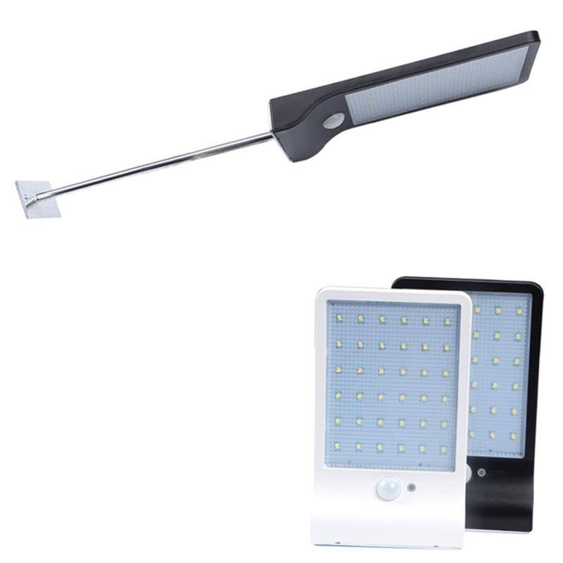 450LM 36LED energía Solar farola luz por movimiento PIR Sensor lámparas camino de jardín lámpara de seguridad exterior impermeable luces de pared 3 modos