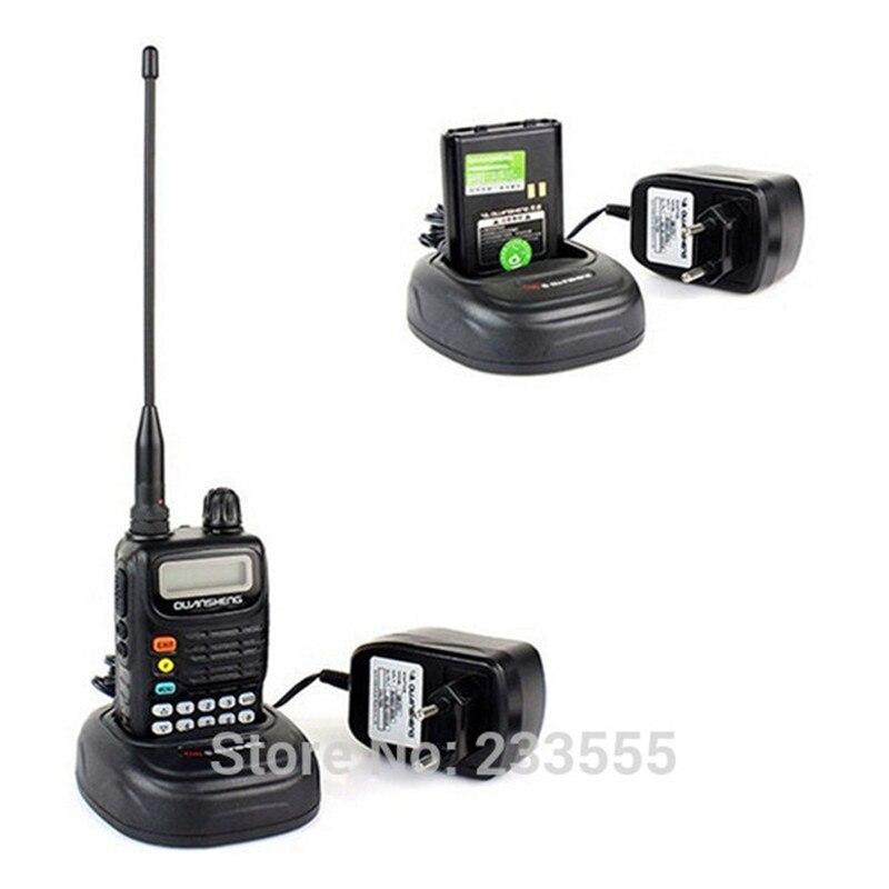 10 Uds nueva Radio Walkie Talkie de iluminación led en TG-6A 1500mAh FM 5W UHF 400-470MHz Monitor de Radio de dos vías