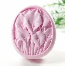 Moule à fleurs S425 artisanat Silicone 3D   Moule à savon, moules artisanaux, bricolage, bougeoirs faits main