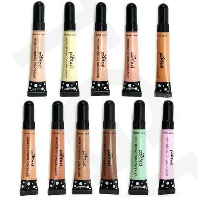 Por DHL 1000 unids/lote nuevo corrector de maquillaje de alta definición base líquida correctora BB Cream Cosmetics corrector facial