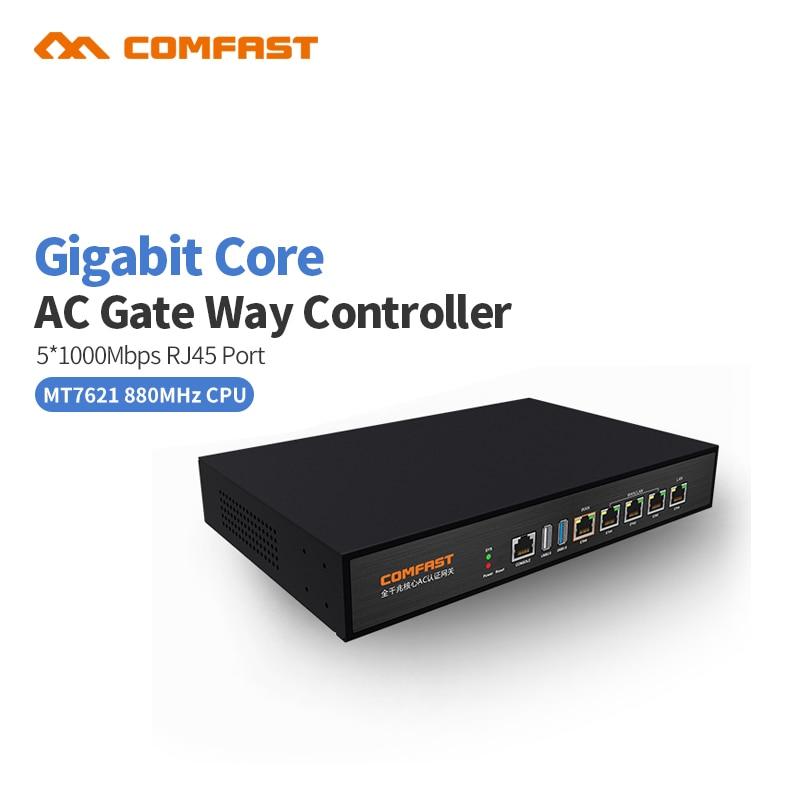 Comfast CF-AC100 гигабитный сетевой шлюз для проверки подлинности переменного тока, роутер MT7621 880 МГц с поддержкой Wi-Fi
