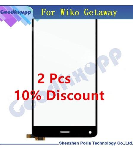 PANTALLA TÁCTIL PARA Wiko Getaway digitalizador pantalla táctil del Panel táctil reemplazo de teléfono para vidrio frontal Wiko para pantalla Wiko Getaway