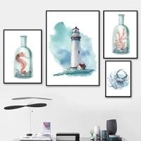 Peinture sur toile avec animaux de dessin anime lapin  imprimes Hd  images de Style nordique  affiche dart mural modulaire minimaliste pour chambre denfants  decoration
