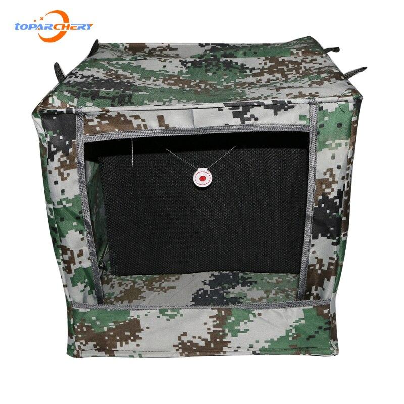 Outdoor Shooting Sound-Reduction Target Box Box-type Airsoft Gun Shooting Archery Target Foldable Target Case Free shipping