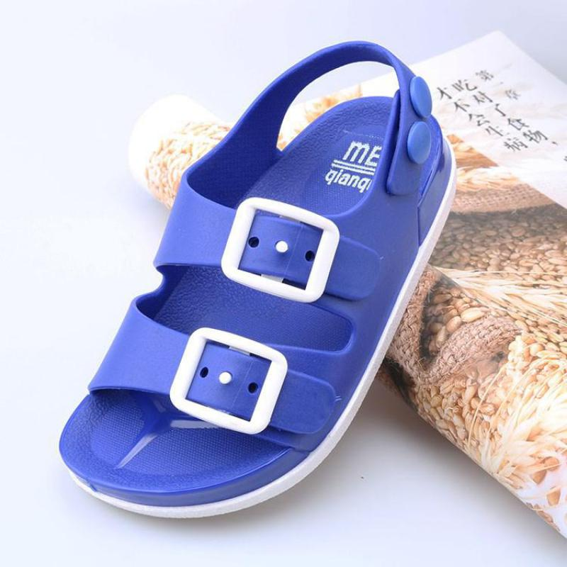Sandalias de playa para niños, sandalias de verano para niños, zapatos para niños, zapatillas planas para niños, sandalias antideslizantes para casa, zapatos informales para exterior