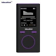 Idéaliste en caoutchouc Sport MP4 lecteur lumière étudiant vidéo réveil montre enregistreur Photo FM TF E-Book avec haut-parleur brassard écouteur