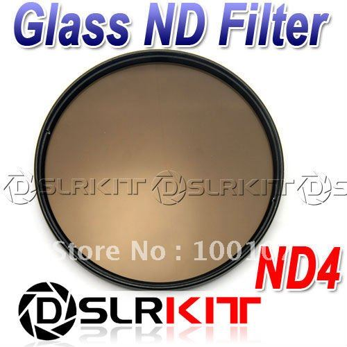 Vidrio óptico 58 ND filtro TIANYA 58mm densidad neutra ND4