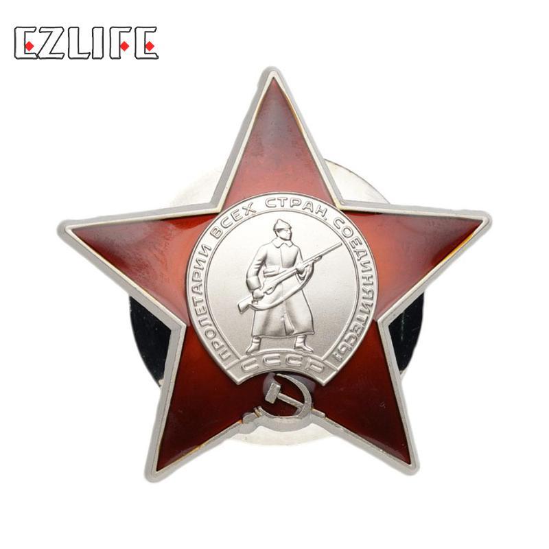 Российская Красная Армия Советский Союз военный Медаль Знак для униформы сувенир медаль значок Прямая поставка