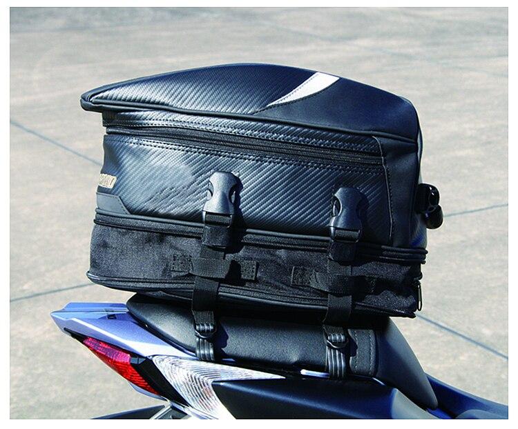 Nueva bolsa de asiento trasero para motocicleta RR9014, paquete de viaje, bolsa para casco para BENELLI TNT 600 899 1130 R16 TRE 899 1130 BJ 300 BN 302