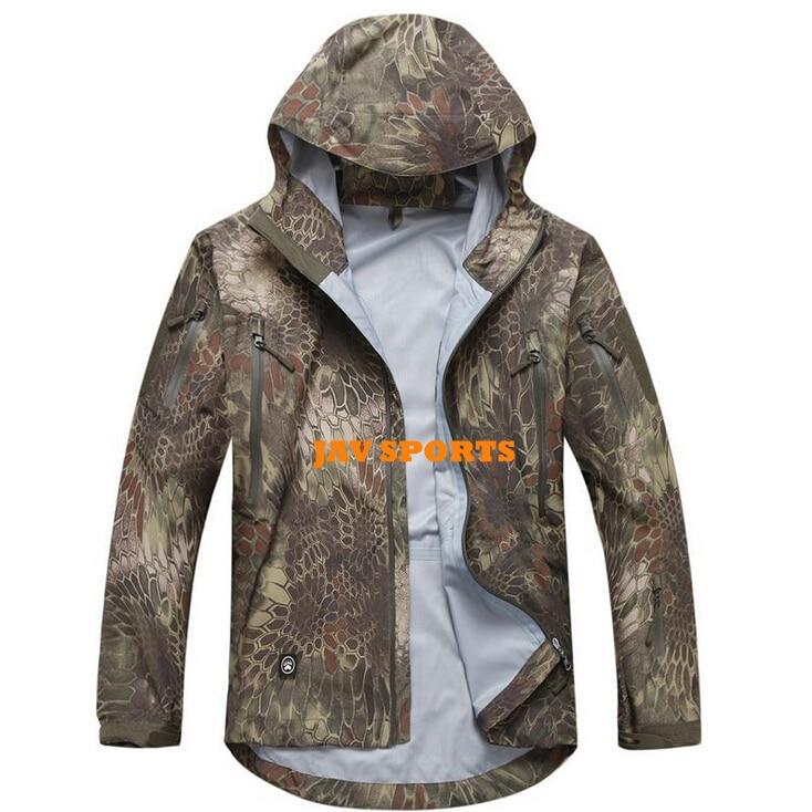 Tactical Gear Shooter Hardshell Jacket Outdoor Jacket In Kryptek Mandrake Hunting Jacket(SKU12050385)
