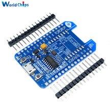 NodeMCU ESP8266 ESP-12E ESP-12F WIFI Internet des choses adaptateur plaque CH340 CH340G carte de développement PCB antenne pour Arduino