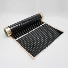PET Film Electrical Warming Floor Under Wood Tile Heating Carbon Heat Film 50cm x 2m No Accessory