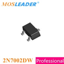 Mosleader 2N7002DW SOT363 1000 Uds 3000 Uds Dual, Canal N, 60V 0.115A 115mA de alta calidad Mosfets