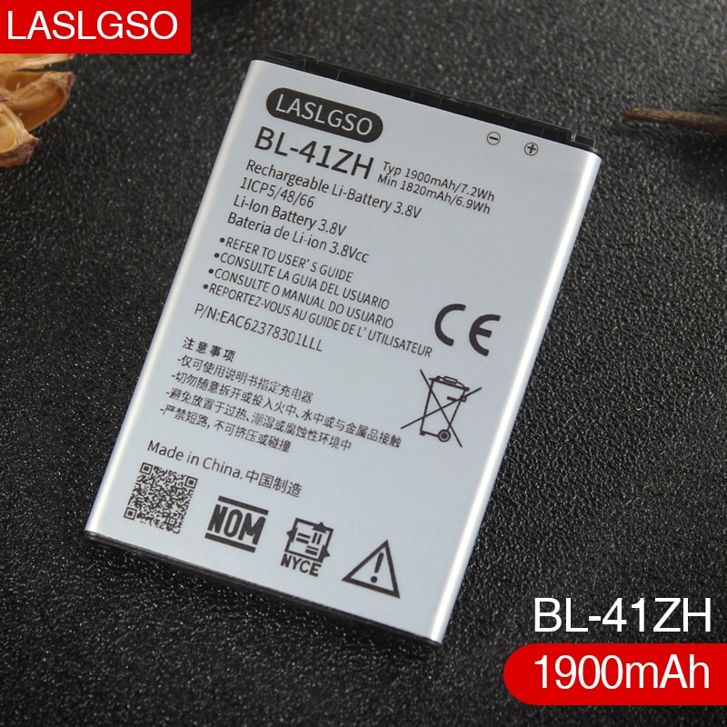 100% Boa Qualidade BL-41ZH para LG Leon H340 H345 MS345 H343 Risio C40 L50 D213N TRIBUTE 2 LS665 bateria