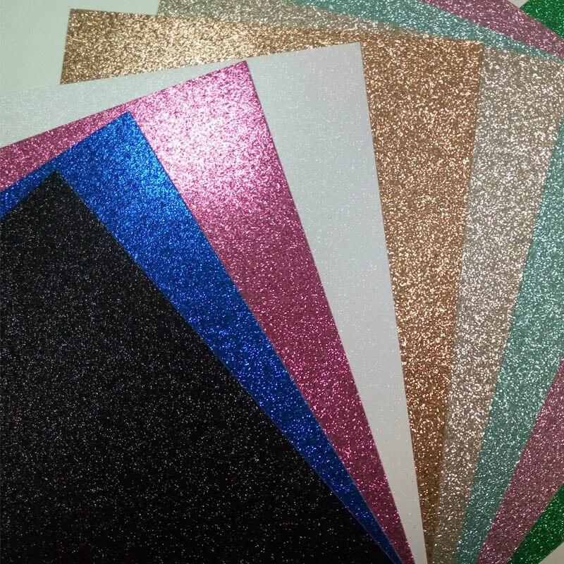 Papel crianças papelão colorido brilho papel ofícios folha