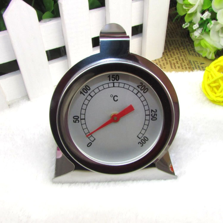 Stainless Steel Metal Shell Household Baking Oven Thermometer enlarge