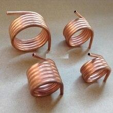 1PC cuivre anneau de refroidissement par eau 380/390/540/550/775 brossé moteur anneaux de refroidissement Tube en laiton pour bricolage RC Jet bateaux