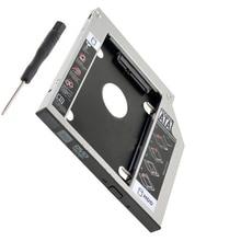 SATA 12,7mm 2nd HDD Disco Duro HD SSD Caddy adaptador para HP Elitebook 8460 p 8470 p 8560 p 8570 p 8760 p