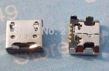 10 pcs Micro USB Jack connector for Google nexus 4/LG E400 E960 E610 P700 P705 P880 L7 F180 LF200