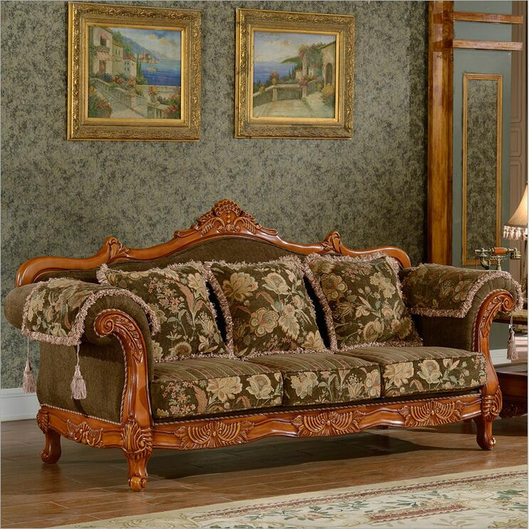 Mobília da sala de estar sofá da tela moderna seccional conjunto de sofá Europeu 2258