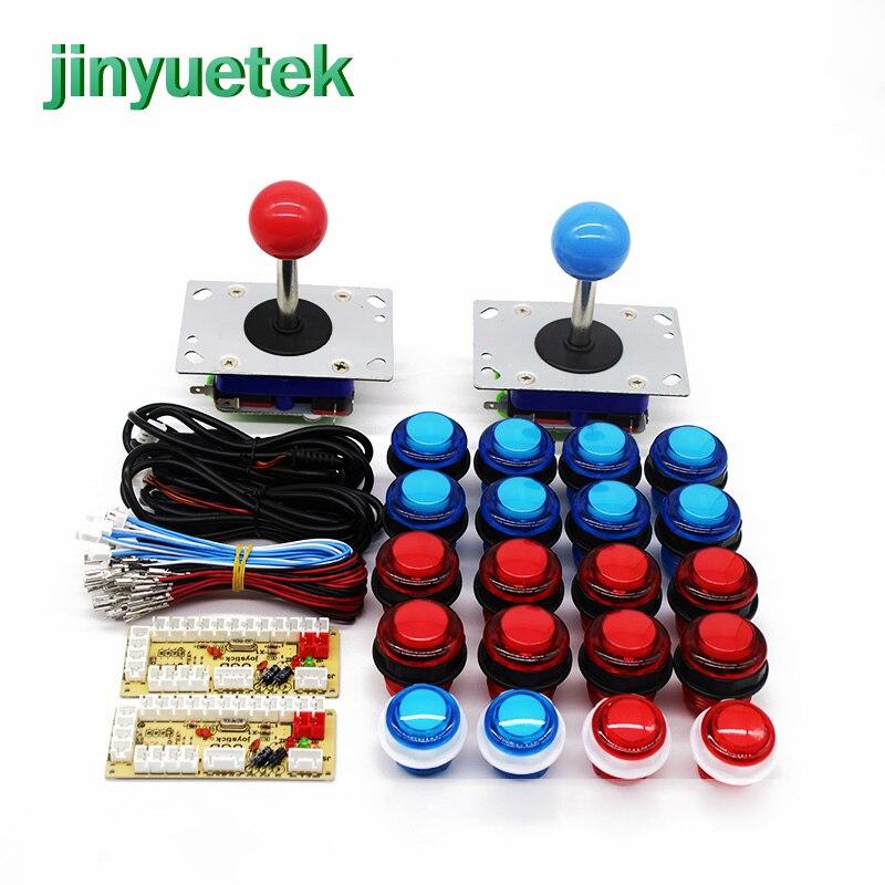 kit arcade game Zero Delay arcade machine sanwa cabinet console button bartop with lamp coin operated game machine joystick