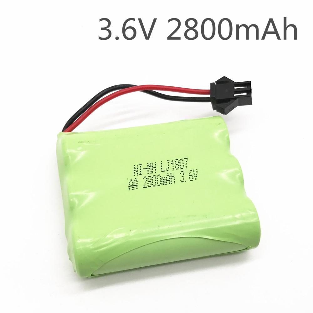 Batería de 3,6 v 2800mah ni-mh batería 3,6 v batería nimh pilas...