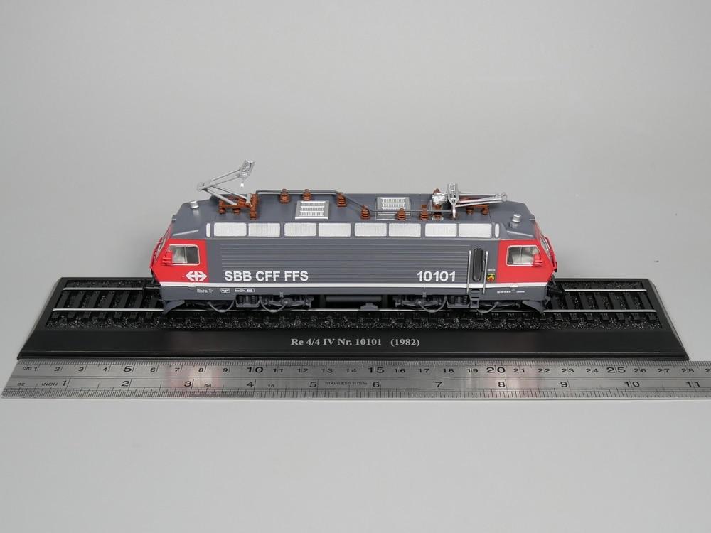 Ho skala modell Atlas 187 Zug Re 4/4 IV Nr 10101 1982 Diecast modell Zug