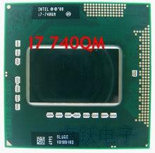 Originele intel CPU laptop i7-740QM 6M Cache 1.73GHz i7 740QM SLBQG PGA988 45W Laptop Compatibel PM55 HM57 HM55 QM57