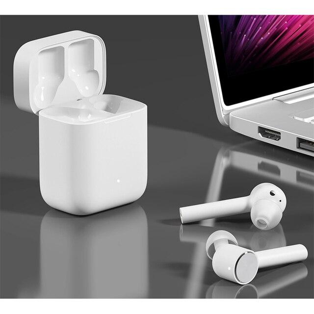 Original Xiaomi mi Airdots pro Air TWS Bluetooth Headset True Wireless Stereo Sport Earphone ANC Switch ENC Auto Pause Control 10