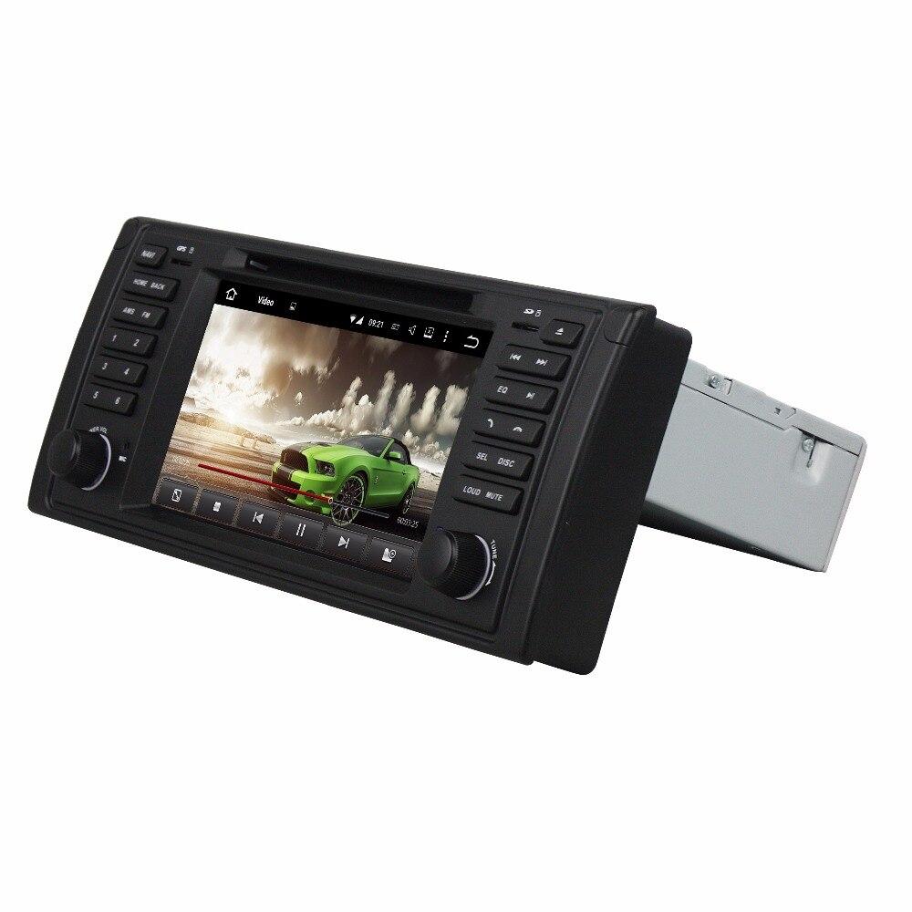 DSP 4 GB de RAM Android 9,0 coche Radio DVD GPS unidad para BMW M5 X5 E39 E53 FM radio Bluetooth 4,2 WIFI USB espejo-enlace