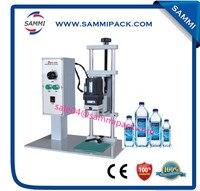 High quality DDX-450 desktop plastic bottle cap sealing machine for cap diamater 10-50mm