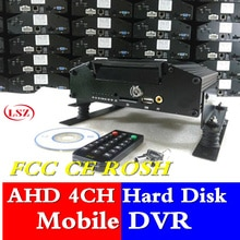 4 way festplatte AHD millionen HD auto video recorder videoaufnahmen mit H.264 algorithmus MDVR lieferant