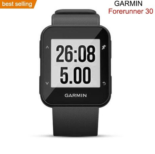 Original GARMIN watch forerunner 30  smart Watch men GPS Sport Wristwatch digital Watch outdoor smartwatch