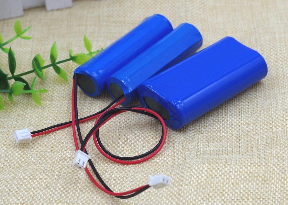 3.7 V 18650 Lithium Accu 2600 mAh 5200 mAh Vissen LED Licht Bluetooth Speaker 4.2 V Emergency DIY batterijen + bescherming