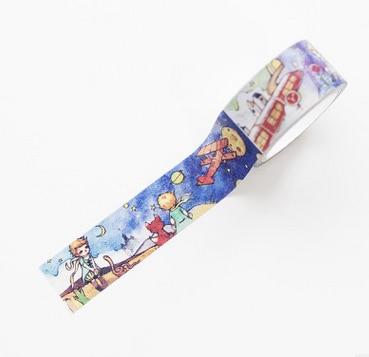 1 unids/lote, cinta adhesiva Washi de papel de dibujos animados DIY, serie little Prince, cinta adhesiva decorativa, pegatinas/suministros escolares 20mm * 7M