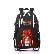 Novo anime dragonball mochila dragon ball z filho goku computador portátil mochila sacos mochila escola moda saco de viagem packsack