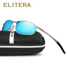 ELITERA  Men Polarized Sunglasses Classic Men Retro Vintage Shades Brand Designer Sun glasses UV400