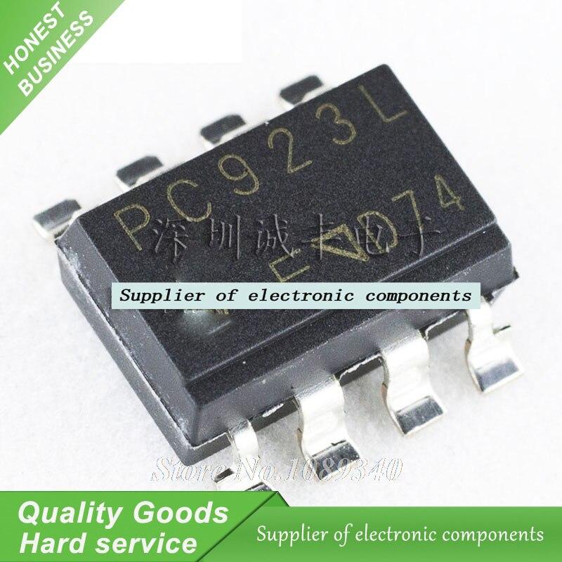 20pcs/lot PC923L PC923 SOP8 Logic Output Optocoupler New Original Free Shipping