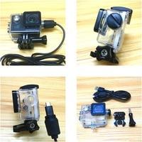 Чехол для зарядного устройства, водонепроницаемый, USB-кабель для SJCAM SJ4000 WiFi SJ9000 C30 R H9 EKEN H9R мотоциклетная рыба-клоун, аксессуары