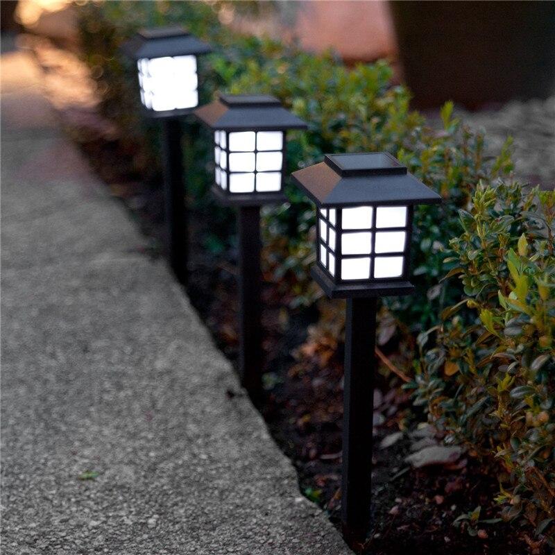Feimefeiyou 2 шт./лот, китайский уличный фонарь, водонепроницаемый светодиодный ландшафтный светильник на солнечной батарее, садовый газон, садовое украшение для парка