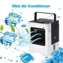 Mini ventilateur portatif Rechargeable de climatisation dusb de climatiseur ventilateur tenu dans la main de refroidissement dair pour le bureau à la maison de voiture expédition directe