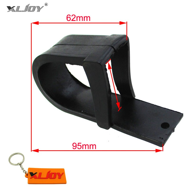 XLJOY Swingarm резиновая цепь слайдер для 50cc 70cc 90cc 110cc 125cc грязи ямы велосипеды