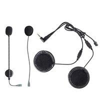 Helmet Bluetooth Motorcycle Intercom Headset Speaker Accessory