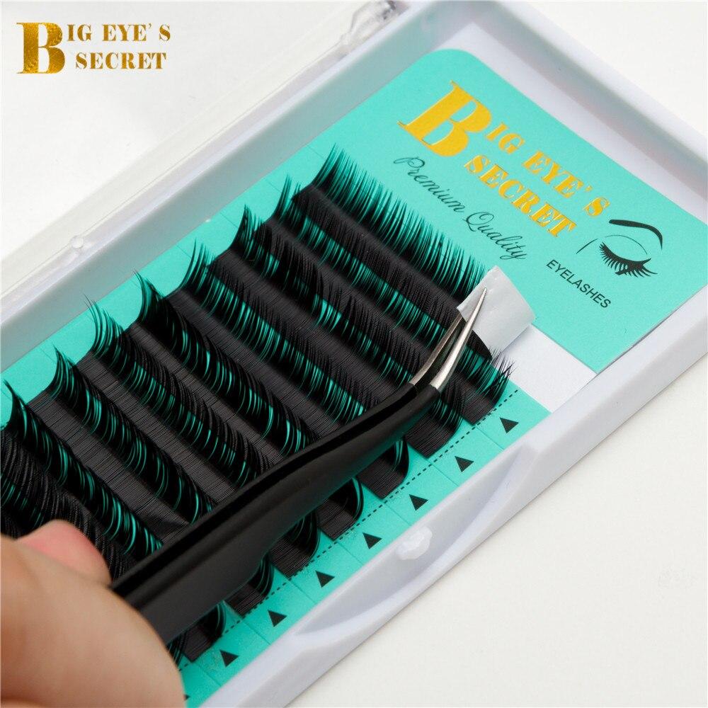 Private Label Big Eye's Secret J B C D L Curl false mink individual eyelashes extension supplies free shipping