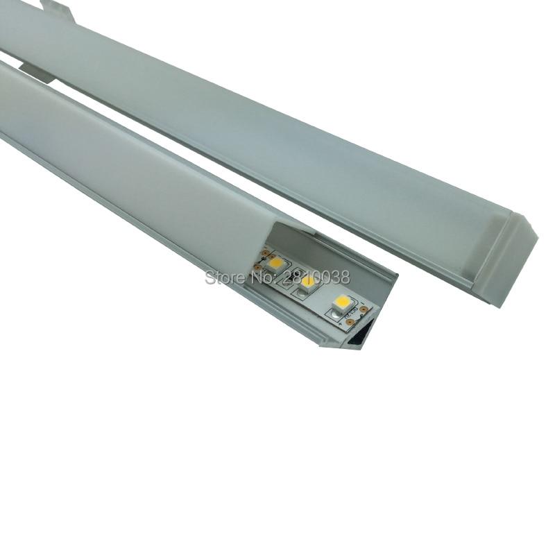 ألومنيوم احترافي بزاوية يمنى ، 10 × 0.5 متر ، أواني المطبخ أو الخزانة