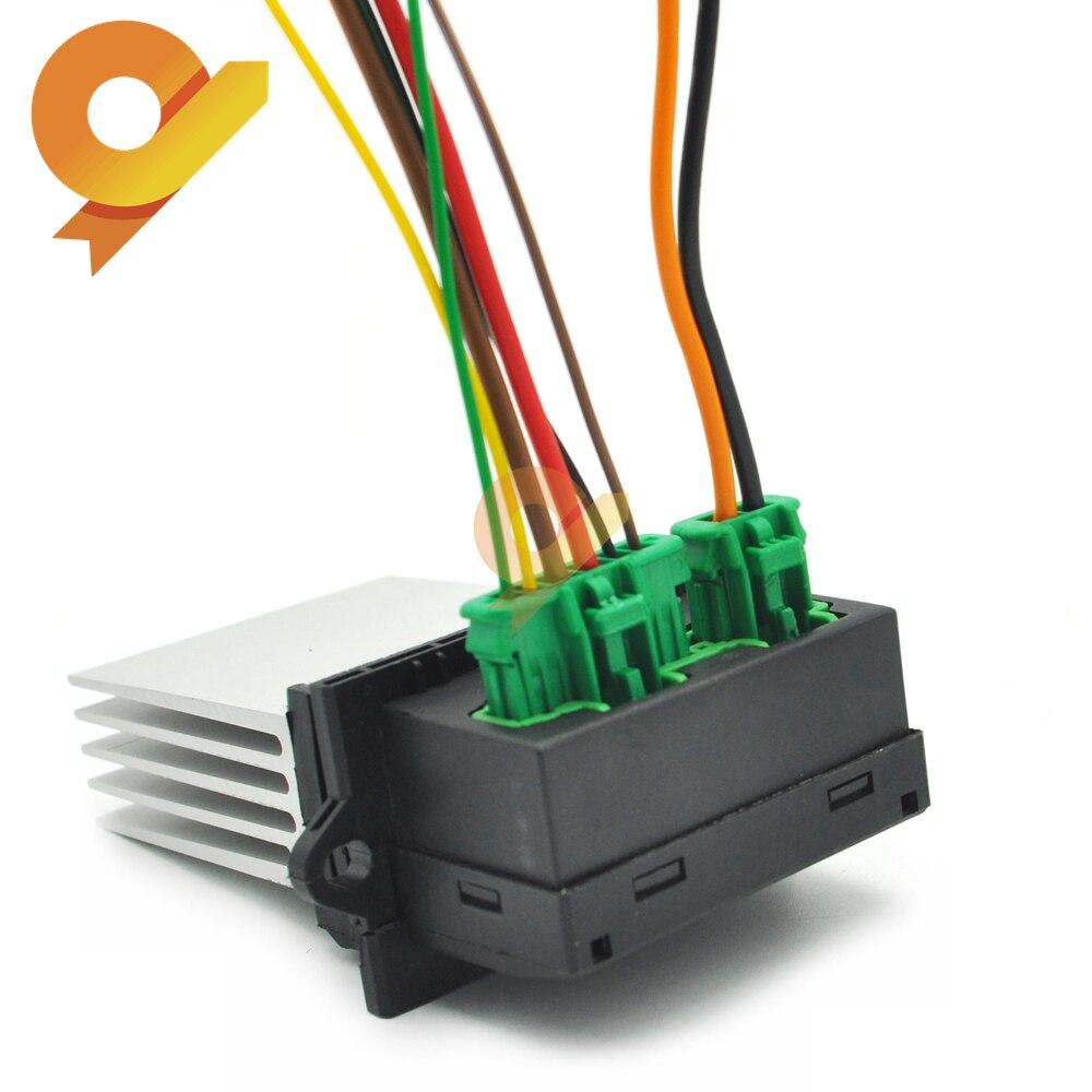 27150-ED70A 7701207718 6441L2 dmuchawa moduł sterowania rezystor lub wtyczki dla Peugeot 1007 207 607 1.4 1.6 2.0 HDI 16V 3.0 V6