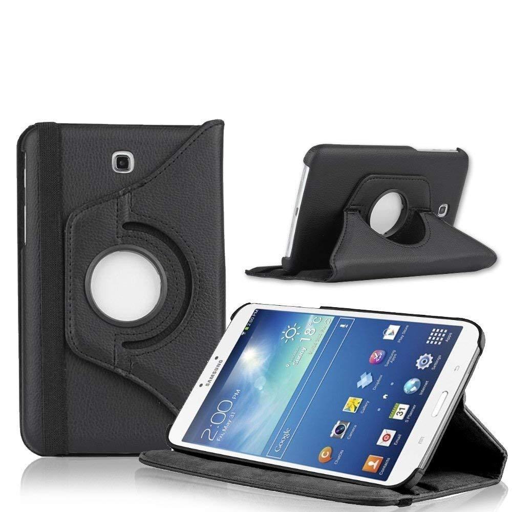 SM-T231 SM-T230 giratorio caso de cuero de la PU cubierta inteligente para Samsung Galaxy Tab 4 7,0 T230 T231 T235 soporte de tableta caso Funda